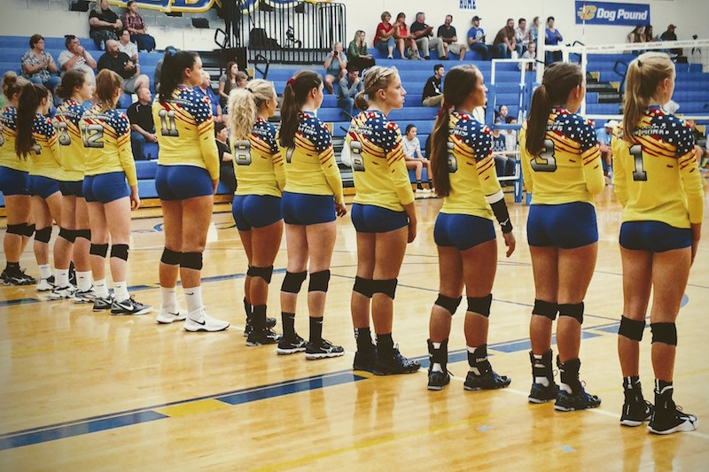 Centreville volleyball earns Southwest 10 Conference road sweep at Hartford