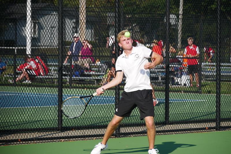 Gallery: Sturgis tennis vs. Vicksburg