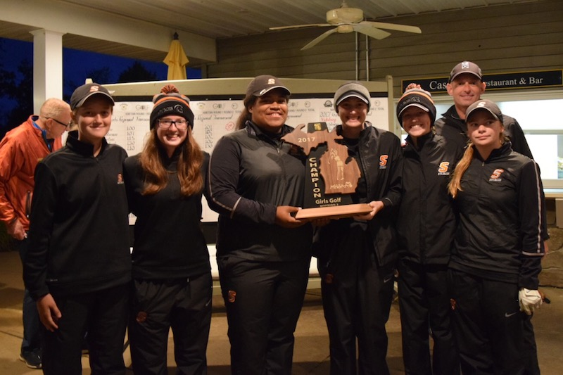 Sturgis golf team, Three Rivers' Taylor collect regional championships, move on to state