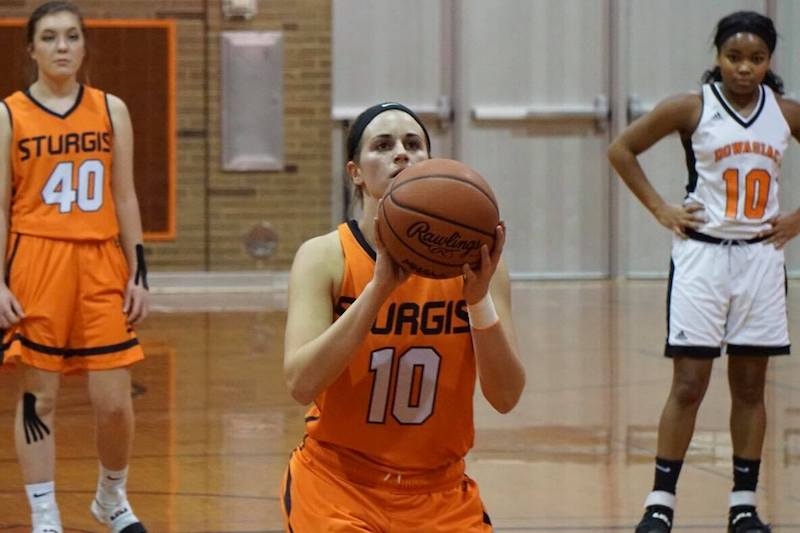 Gallery: Sturgis girls throttle Dowagiac in Wolverine girls hoops