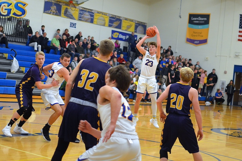 Gallery: Bronson boys basketball team claims road win at Centreville