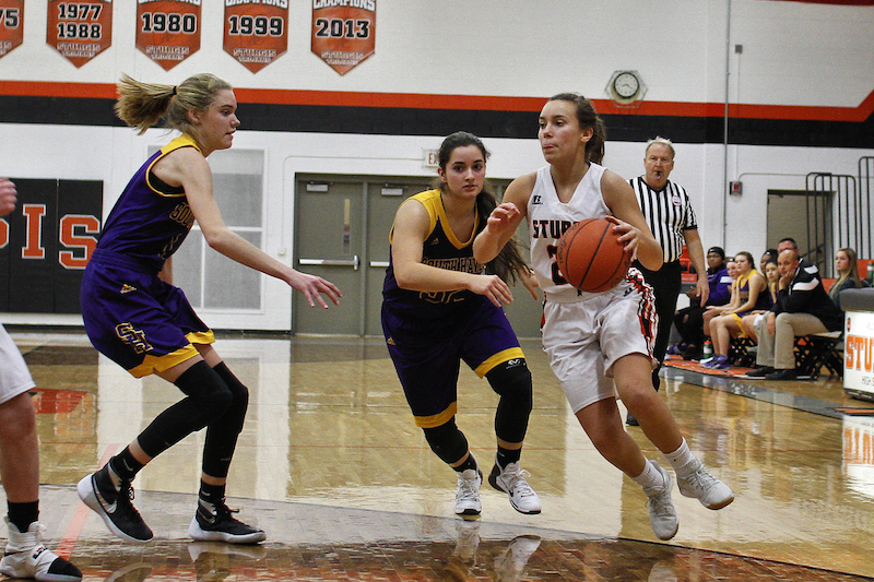 Gallery: Sturgis girls basketball team tops South Haven for first win of the year