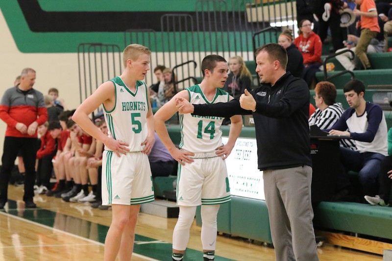 Bloomingdale makes move in the third quarter for boys basketball win at Mendon