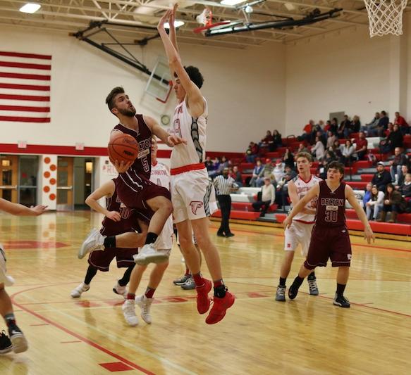 Falcons snag SAC boys basketball win against Delton-Kellogg