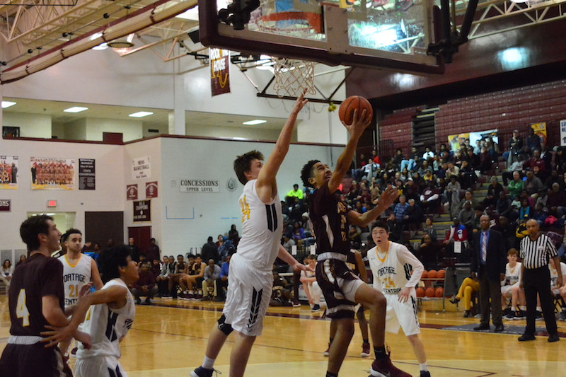Kalamazoo Central reserves boost Giants to Class A district championship against Portage Central