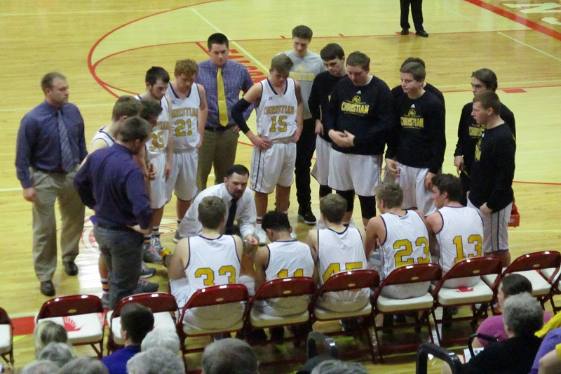 Kalamazoo Christian meets Monroe St. Mary in Class C quarterfinal
