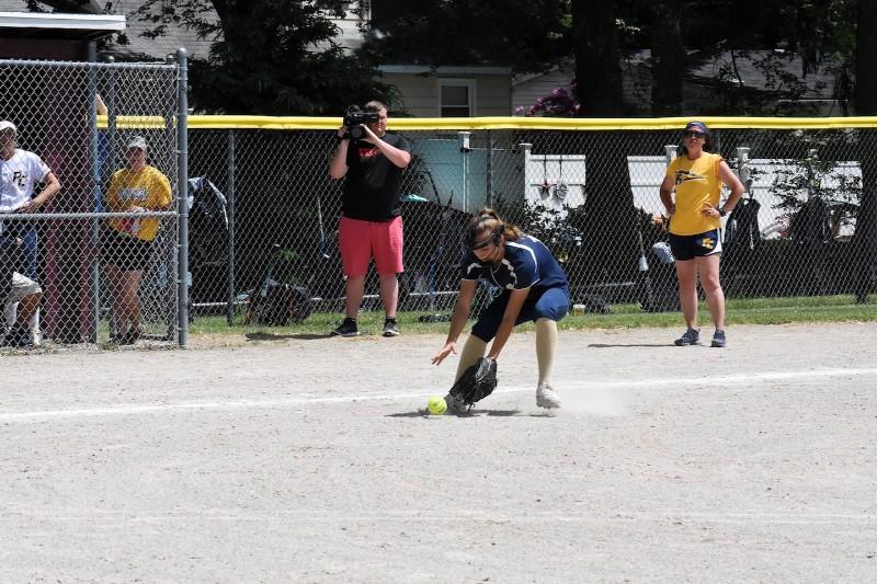 Mattawan vs. Portage Central district softball 2018.
