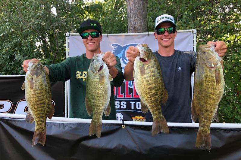 Zona twins win Michigan College Bass Tour Classic