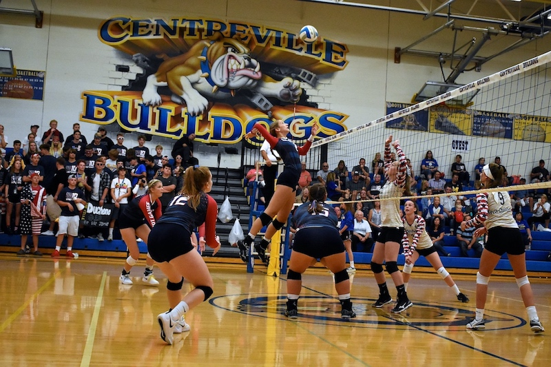 Gallery: Centreville volleyball sweeps Decatur