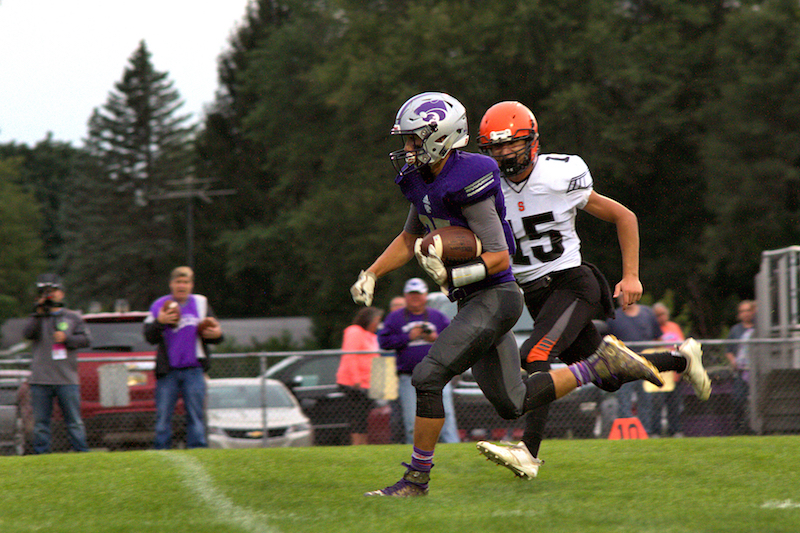 Football Box Score/Gallery/Video: Sturgis vs. Three Rivers