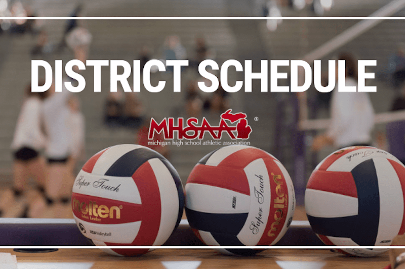 District Volleyball Roundup For Cass, St. Joseph and Kalamazoo Counties
