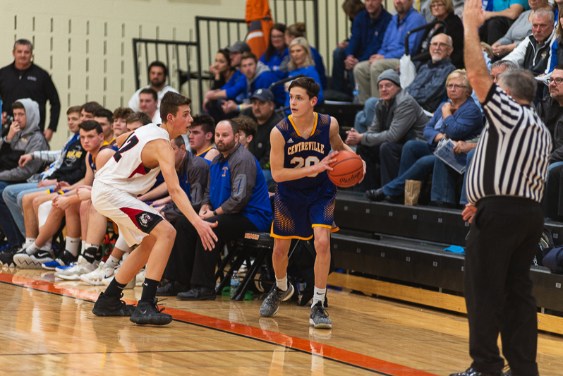 Centreville Vs White Pigeon Districts Mens BB 2 27 19-6