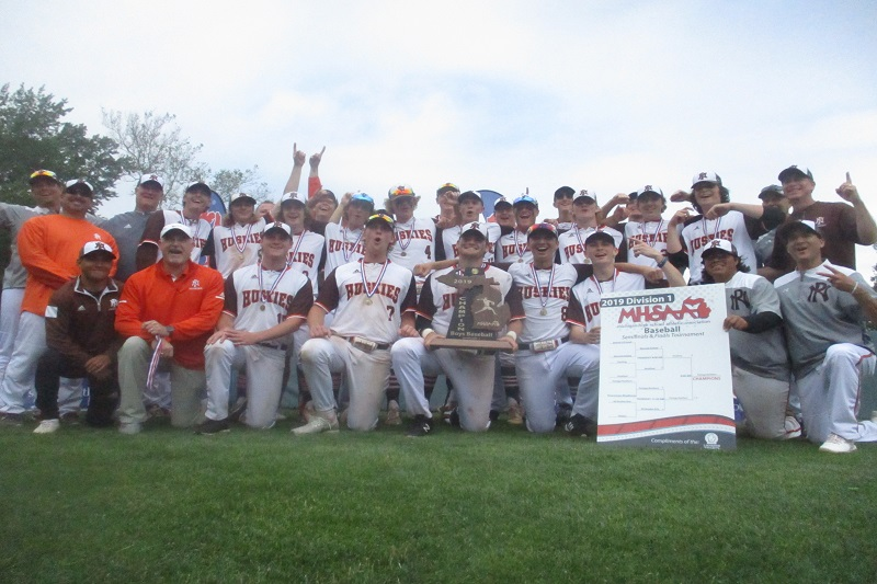 Portage Northern downs Rockford 10-4 to claim first baseball state title