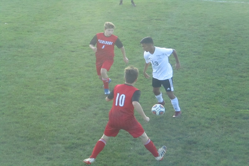 Vicksburg soccer earns first win over Sturgis in years with 1-0 shutout