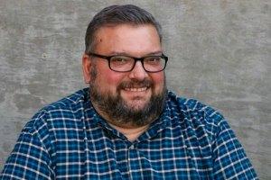 Joe Iovino, writer and podcast host for UMC.org. Photo by Kathleen Barry, United Methodist Communications.