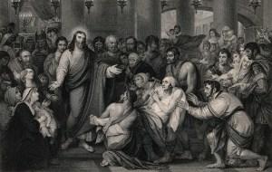 Crowds often surrounded Jesus.