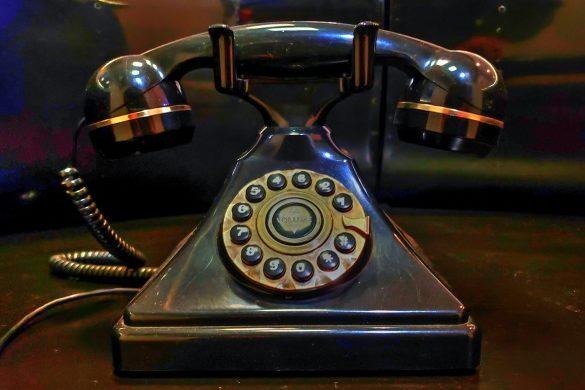God rarely uses a phone.