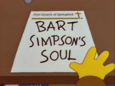 Bart Simpson's soul.