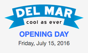 Del Mar Opening Day 2016