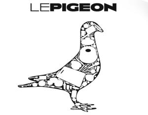 Le Pigeon Portland logo