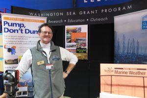 WA Sea Grant Booth