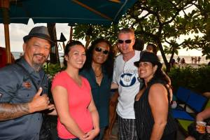 JK SK and Family with Henry Kapono 100614