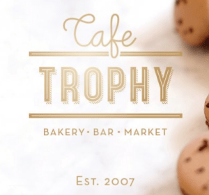 Cafe Trophy from Trophy Cupcakes