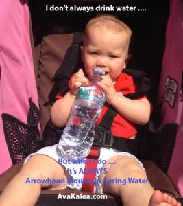 Ava Kalea Recommends Arrowhead Mountain Spring Water