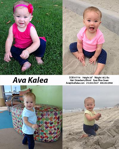 Ava Kalea Comp Card 0717