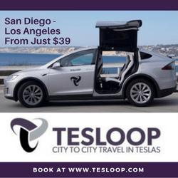 Tesloop Banner San Diego - Los Angeles From Just $39