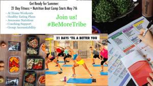 Get Ready for Summer 21 Day Fitness + Nutrition Boot Camp