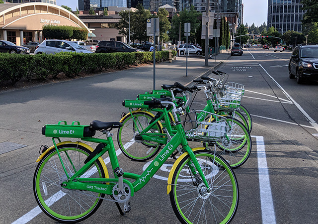 Electric-assisted Bike Share In Bellevue