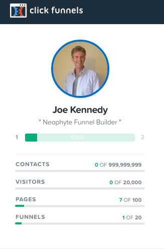 Joe Kennedy Neophyte Funnel Builder