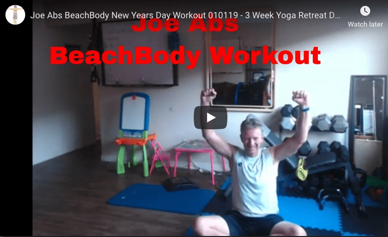 Joe Abs New Years Day BeachBody Workout