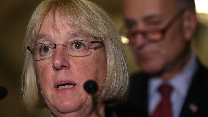 Senator Patty Murray Blows Chuck Shumer