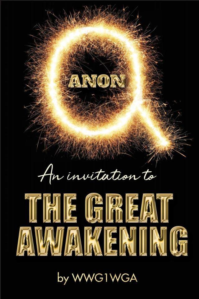 QAnon Invitation to The Great Awakening #WWG1WGA