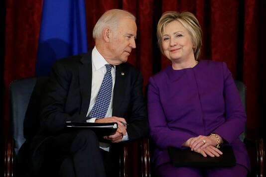 Crooked Hillary Clinton Still Thinks She is Above the Law and Senile Joe Biden