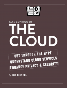 Take Control of the Cloud cover
