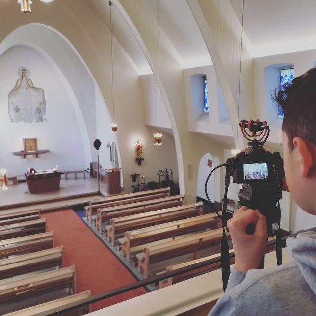 Microsoft Teams church Video
