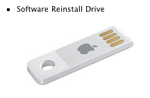image of MacBook Air USB Software Reinstall Drive
