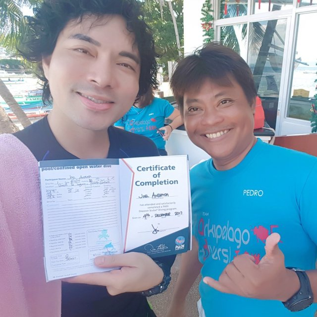 My Discover Scuba Diving with Arkipelago Divers