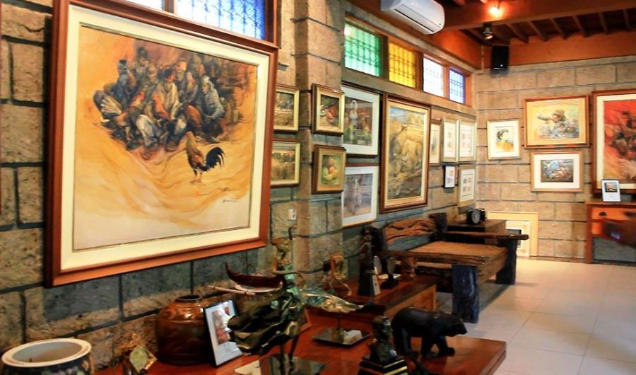 Art Pieces displayed in Mr. Angel Cacnio's Art Gallery
