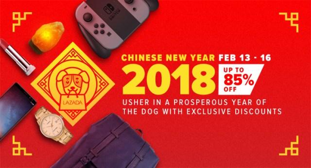 Lazada Chinese New Year