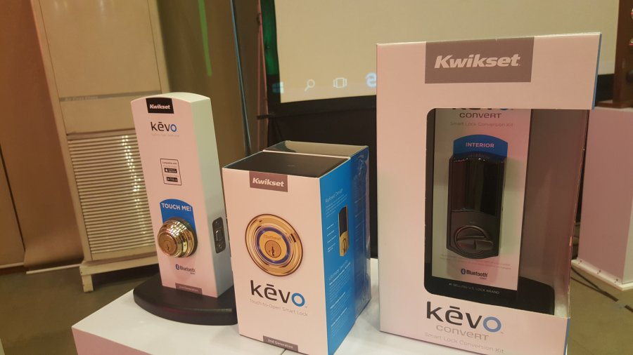 Kevo Electronic Lock, one of Kwikset Signature Series