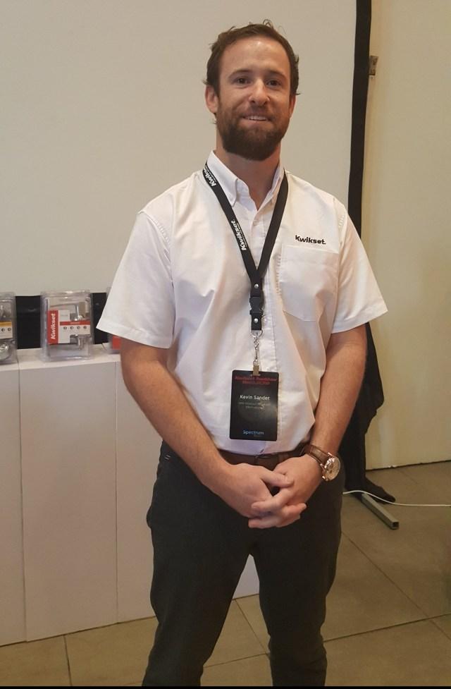 Kevin Sander, Kwikset International Brand Manager