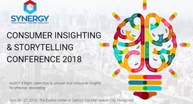 Consumer Insighting and Storytelling Conference 2018
