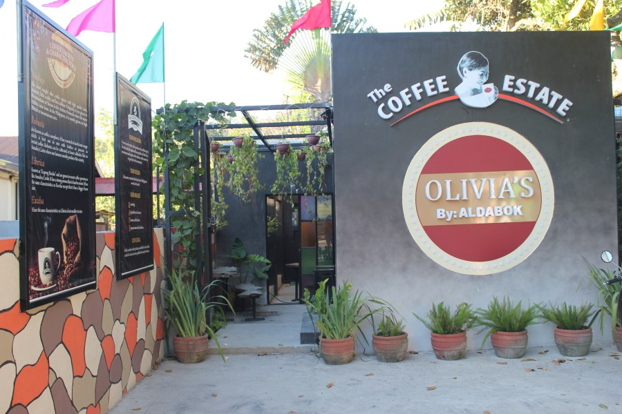 Olivia's Coffee Shop in Bucal, Amadeo, Cavite