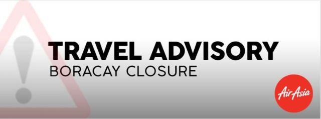 Air Asia Boracay Travel Advisory