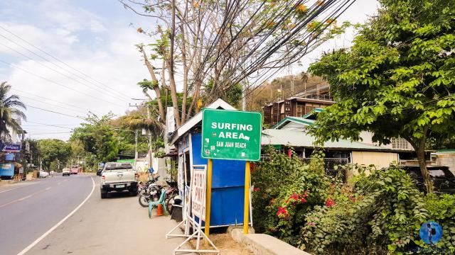 San Juan, La Union Road Sign