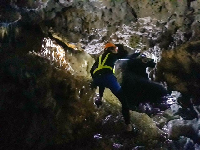 Cathedral Cave and Cliff Diving, Carabao Island, Romblon